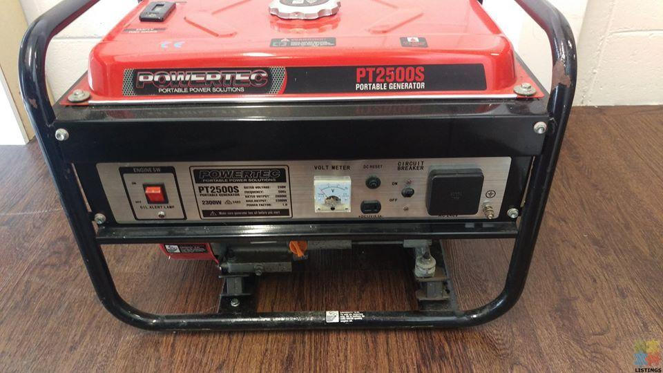 PowerTech Portable Petrol Generator PT2500s - 1/1