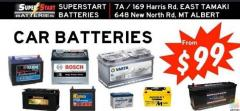 Batteries for sale (essential services only) delivery around Auckland areas