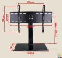 The most popular universal TV Stand for 32''-55'' Flat TV, Brand new