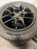 4x114.3 Wheels With Tyres