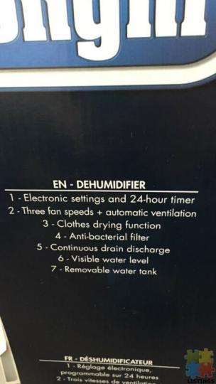 Dehumidifier DeLonghi - 3/4