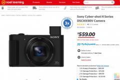 Sony Cyber-shot H Series DSCHX90V Camera
