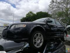 2007 AUDI A4 WRECKING FOR PARTS