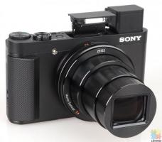 Sony DSC-HX90V High Zoom Digital Compact Camera with 180 Degrees Tiltable LCD Screen and View Finder