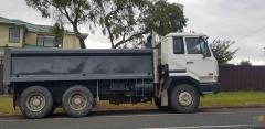 Hire 6 wheeler tipper truck s