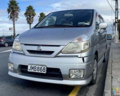 2004 Nissan Serena w/ Towbar - **Free deliver Auckland Area**