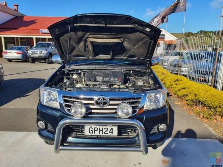 2012 Toyota Hilux SR5 4WD 3.0TD DC 5M - 5/12