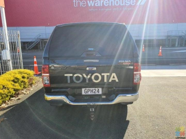 2012 Toyota Hilux SR5 4WD 3.0TD DC 5M - 7/12