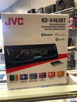 JVC KD X462 BLUETOOTH STEREO WITH 1 YEAR WARRANTY