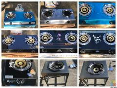 M&G Double Glass burner Stove-New In stock