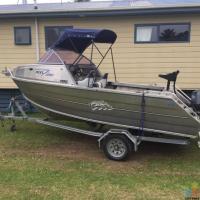 Boat Fryran 500 rebel aluminum