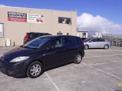 Mazda Premacy 2007 Low Kms 91,100 Kms only approx $43 per week (T&C)