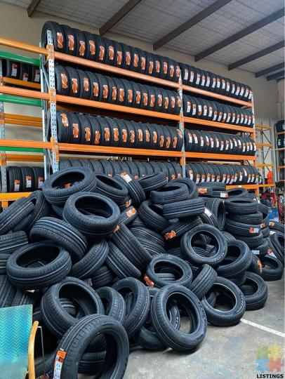 Brand new tyres $75 each fitted - 1/1