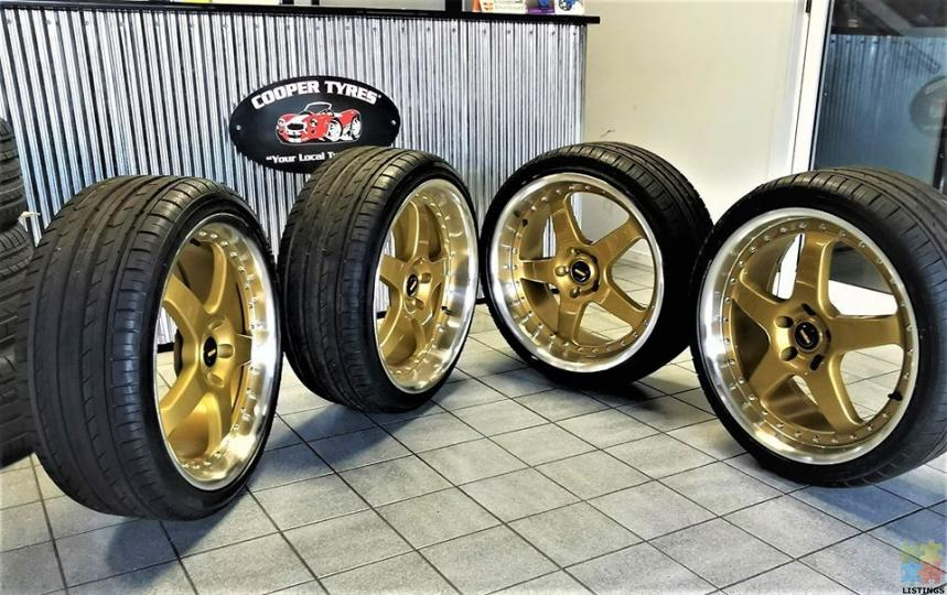 Chrome/GOLD Wheels TOP Notch selection - 1/2