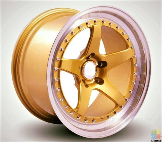 Chrome/GOLD Wheels TOP Notch selection - 2/2