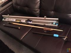 Professional snooker cues from Thailand