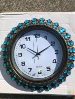 Brand new wall clock 350×350mm