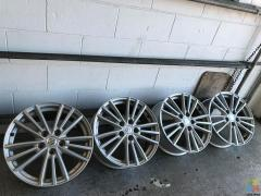 "17"" Suzuki Swift Factory Mags (ENKEI) MINT CONDITION"