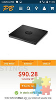 DVD external hard drive