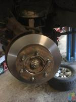 New brake pads Rotors skim $129+