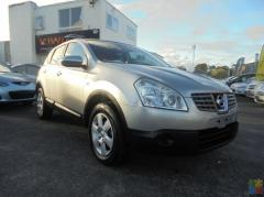 2007 Nissan dualis **reverse camera**low kms**