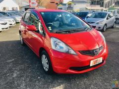 2009 Honda Fit in red sassy colour