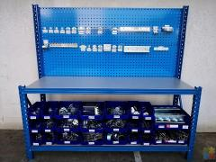 Workbench With Pegboard