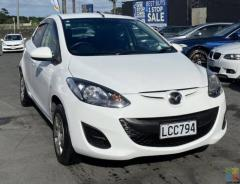 2012 Mazda Demio in White
