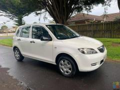 Mazda Demio 2005 only 130kms 1.3 Auto Super Economical new 1 year Warrant & Registered