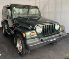 1997 Chrysler Jeep Wrangler in Dark Green - FINANCE AVAILABLE