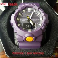 Authentic G-shock Watches $150/each ,Full refund if fake!