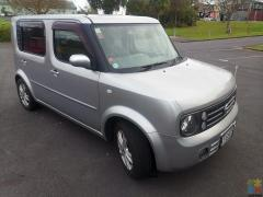 2006 nissan cube 7 seats 106600kms