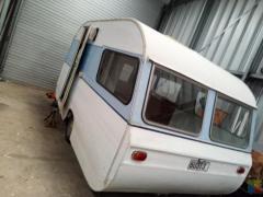 Retro caravan