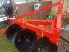 3 disc plough new