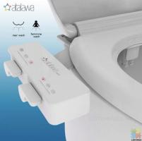 Bidet Attachment for Toilet Seat with Dual Self Cleaning Nozzle
