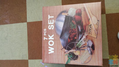 7 pce wok