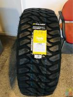 35x12.5R15 MUDTYRES BRAND NEW FITTED AND BALANCED