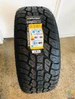 275/55/20 BRAND NEW ALL TERRAIN TYRES FITTED AND BALANCED