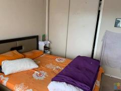 Double room for rent for single person.