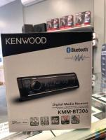 KENWOOD KMM-BT306 BLUETOOTH CAR STEREO WITHOUT INSTALLATION
