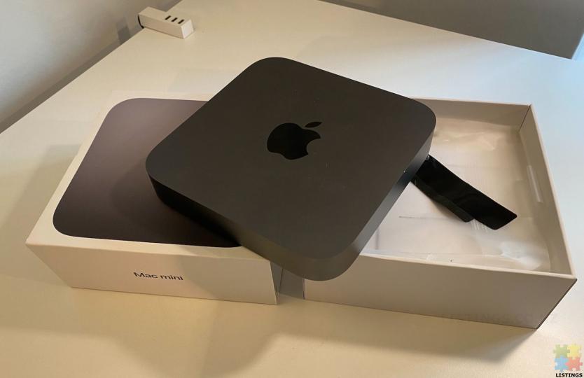 Mac mini 2018. New condition. Warranty - 1/2