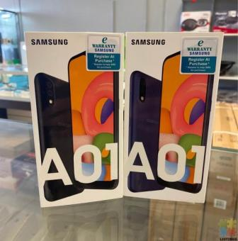 SAMSUNG GALAXY A01 (2020) BRAND NEW OPEN TO ALL NETWORKS PICK UP LOCATION