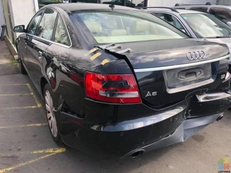 Audi A6 2005 Wrecking For parts