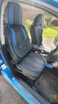 Leather car seat covers (only for 5 seater cars)