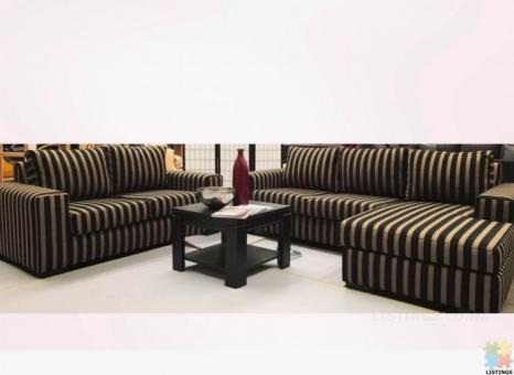 NEW ZEALAND Made Furniture city Alice 3.5 Chaise + 2 45% off was $3500
