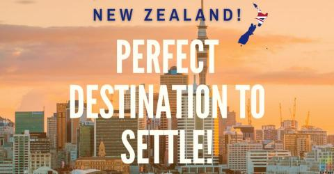 NewZealand has emerged as the Perfect and Safest destination to live and relax with family!