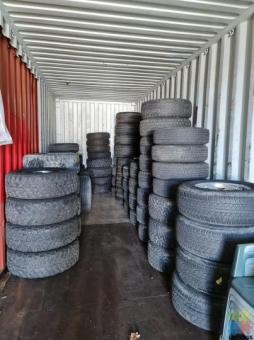 All sorts of 4x4 tyres and wheels