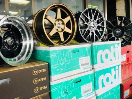Combo starts from $15 for Wheel and tyres...