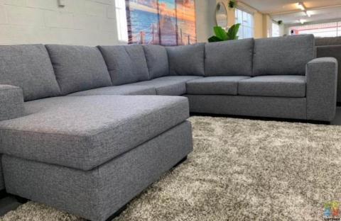 NEW ZEALAND Made Furniture city Maddison corner 50% off $4000