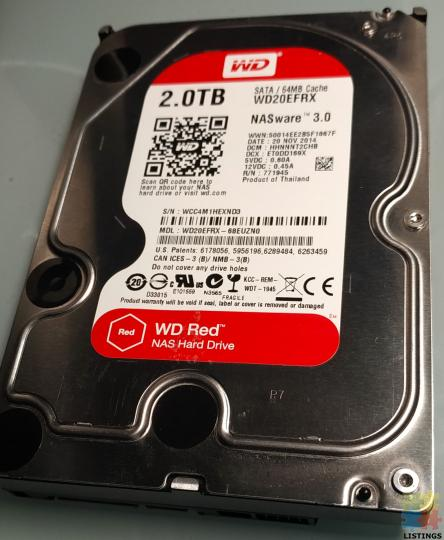 WD RED 2 TB - 1/2
